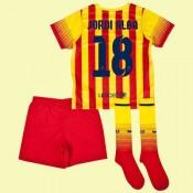 Acheter Des Maillot Football Junior Barcelone (Jordi Alba 18) 15/16 Extérieur Nike Alsace