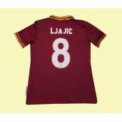 Acheter Des Maillot Football (Ljajic 8) Roma 2014 2015 Domicile Fiable Paris
