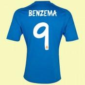 Acheter Maillot De Football Real Madrid (Benzema 9) 15/16 Extérieur Adidas