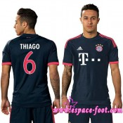 Acheter Maillot Foot Bayern Munich Thiago 2015 2016 Troisième Boutique France