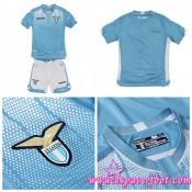 Acheter Maillot Foot Ss Lazio Enfant Kits 2015/2016 Domicile Pas Cher France