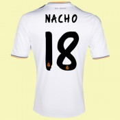 Acheter Maillot Football (Nacho 18) Real Madrid 2014 2015 Domicile Adidas Personnalisable