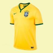 Acheter Un Maillot De Football Brésil 2014 World Cup Domicile Adidas Pas Chére