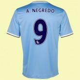 Acheter Un Maillot De Football (Álvaro Negredo 9) Manchester City 2014 2015 Domicile Paris