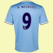 Acheter Un Maillot De Football (Álvaro Negredo 9) Manchester City 2014 2015 Domicile Paris