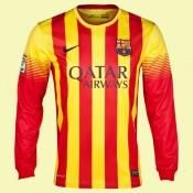 Acheter Un Maillot Manches Longues Barcelone 2015/16 Extérieur Nike En Ligne Pas Cher Marseille
