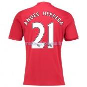 Ander Herrera Manchester United Maillot Domicile 2016/2017