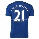 Ander Herrera Manchester United Maillot Exterieur 2016/2017