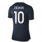 Authentique 2014 Coupe Du Monde France ( 10 Zidane ) La Maison D'Escompte De Maillot