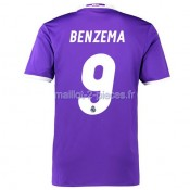 Benzema Real Madrid Maillot Exterieur 2016/2017