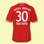 Boutique De Maillot De Foot Bayern Munich (Gustavo 30) 15/16 Domicile Adidas Pas Cher Marseille