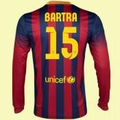 Boutique De Maillot De Manches Longues Barcelone (Marc Bartra 15) 2014-2015 Domicile Nike Soldes Provence