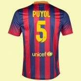 Boutique De Maillot Football (Carles Puyol 5) Fc Barcelone 2014 2015 Domicile Original