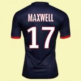 Boutique Maillot De Football (Maxwell 17) Psg 2014 2015 Domicile Paris