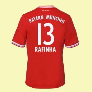 Boutique Maillot (Rafinha 13) Bayern Munich 2014 2015 Domicile Adidas Soldes Provence