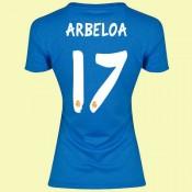Boutique Maillots Femmes (Arbeloa 17) Real Madrid 2014 2015 Extérieur Adidas Officiel