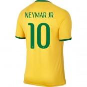 Bresil Maillot De Football Domicile Coupe Du Monde 2014 Nike(10 Neymar Jr)