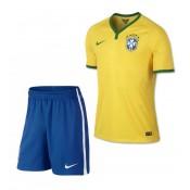 Bresil Maillot De Football Domicile Coupe Du Monde 2014 Nike+Shorts