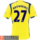 Browning Everton Maillot Third 2016/2017