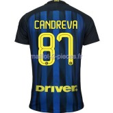 Candreva Inter Milan Maillot Domicile 2016/2017