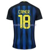 Caner Inter Milan Maillot Domicile 2016/2017