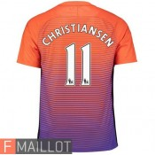 Christiansen Manchester City Maillot Third 2016/2017