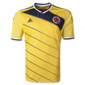 Colombie Maillot De Football Domicile Coupe Du Monde 2014 Adidas France