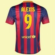 Commander Maillots (Alexis Sanchez 9) Fc Barcelone 2014 2015 Domicile Nike Avec Flocage Officiel France