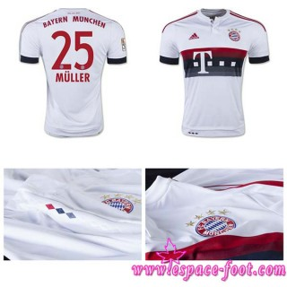 Crée Ton Maillot Bayern Munich Muller 2015/2016 Extérieur France Site Officiel