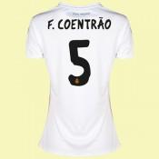 Creer Maillot De Foot Femmes Real Madrid (Fábio Coentr?O 5) 15/16 Domicile Adidas