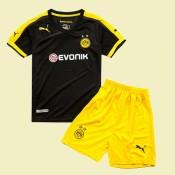 Creer Maillot Football Enfants Dortmund 15/16 Extérieur #3113 Authentique