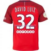 David Luiz Paris Saint Germain Maillot Exterieur 2016/2017