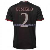 De Sciglio AC Milan Maillot Domicile 2016/2017