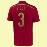 Dessin Maillot (Pique 3) Espagne 2014 World Cup Domicile Adidas Moins Cher Provence