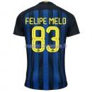 Felipe Melo Inter Milan Maillot Domicile Fr 2016/2017