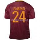 Florenzi As Roma Maillot Domicile 2016/2017