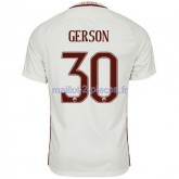 Gerson As Roma Maillot Exterieur 2016/2017
