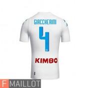 Girccherini Napoli Maillot Exterieur 2016/2017