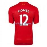 Gomez Liverpool Maillot Domicile 2016/2017