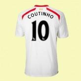Grossiste Maillot De Foot (Coutinho 10) Liverpool 2014 2015 Extérieur Avec Flocage Officiel