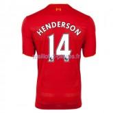 Henderson Liverpool Maillot Domicile 2016/2017