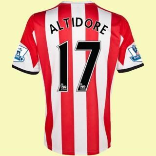 Jeu De Maillot (Altidore 17) Sunderland 2014 2015 Domicile Adidas Avec Flocage
