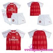 Jeu Maillots Foot Arsenal Enfant Kits 2015 2016 Domicile Authentique