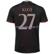 Kuco AC Milan Maillot Domicile 2016/2017