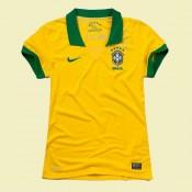 Les Nouveau Maillot Foot Femme Brésil 15/16 Domicile Avec Flocage Officiel #3145 Boutique En Ligne