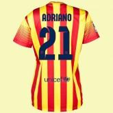 Les Nouveaux Maillot De Femme Barcelone (Adriano 21) 15/16 Extérieur Nike Code Promo