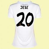 Magasin Maillot De Football Femmes Real Madrid Fc (Jese 20) 15/16 Domicile Adidas