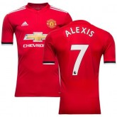 Manchester United Maillot Domicile 2017/18 ALEXIS 7 Rouge