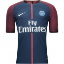 Paris Saint-Germain Maillot Domicile 2017/18 Vapor Bleu