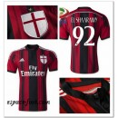 Maillot Ac Milan El Shaarawy 2014/15 Domicile Cannes
